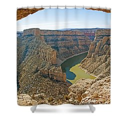 Devils Overlook Shower Curtain