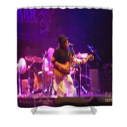 Devon Allman Shower Curtain by Kelly Awad
