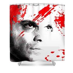 Dexter Dreaming Shower Curtain