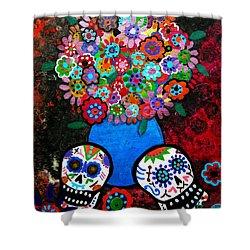 Dia De Los Muertos Blooms Painting By Pristine Cartera Turkus