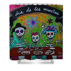Dia De Los Muertos Familia Painting By Pristine Cartera Turkus