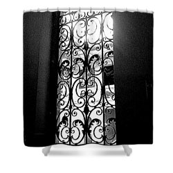 Shower Curtain featuring the photograph Dia Window by Daniel Thompson