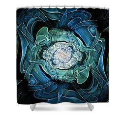 Diamond Nest Shower Curtain by Anastasiya Malakhova