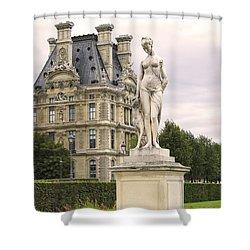 Diana Huntress Tuileries Garden Shower Curtain