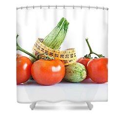 Diet Ingredients Shower Curtain