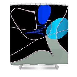 Different Perspective Shower Curtain