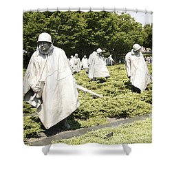 Different Realities Shower Curtain