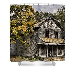 Dilapidated Shower Curtain by Heather Applegate