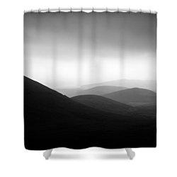 Dingle Curves Shower Curtain by Mark Callanan