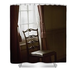 Dining Room Window Shower Curtain by Margie Hurwich
