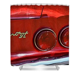 Shower Curtain featuring the photograph Dino Gt by Dean Ferreira