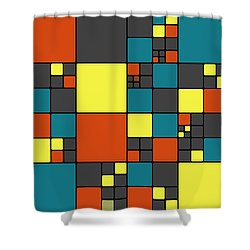 Dio - 55-01a Shower Curtain by Variance Collections