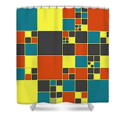 Dio - 561 -01a Shower Curtain by Variance Collections