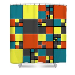 Dio - 56a Shower Curtain by Variance Collections