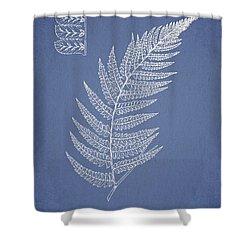 Diplazium Griffithii Shower Curtain by Aged Pixel