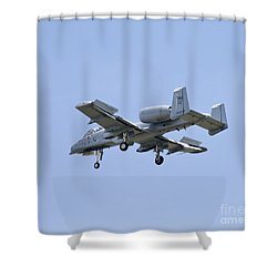 Dirty Hawg Shower Curtain by Tim Mulina