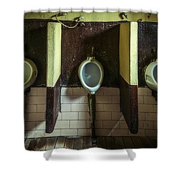 Dirty Urinals Shower Curtain