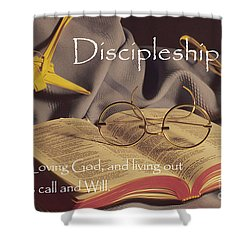 Discipleship Shower Curtain