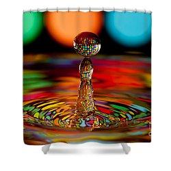 Disco Ball Drop Shower Curtain