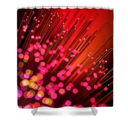 Disco Inferno Shower Curtain by Dazzle Zazz