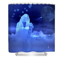 Shower Curtain featuring the photograph Discoveries by Joyce Dickens