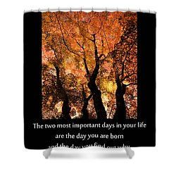 Discovery Shower Curtain by Don Schwartz