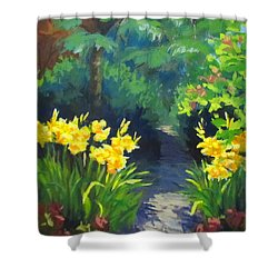 Discovery Garden Shower Curtain