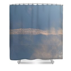 Dissipation  Shower Curtain by Joseph Baril