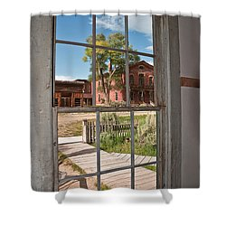 Shower Curtain featuring the photograph Distorted View Of The World by Sue Smith
