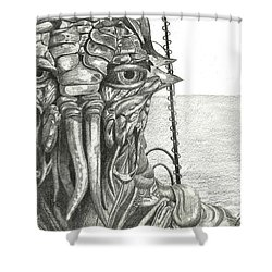 District 9 Shower Curtain