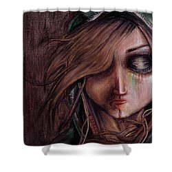Disturbance Of The Pain-sensitive Structures In My Head Shower Curtain by Rouble Rust