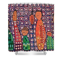 Diversity Shower Curtain