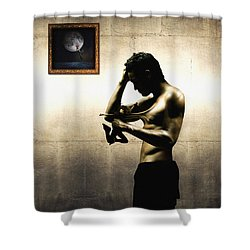 Divide Et Pati - Divide And Suffer Shower Curtain by Alessandro Della Pietra