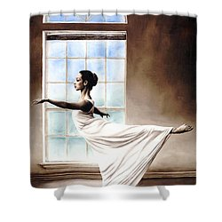 Divine Grace Shower Curtain by Richard Young