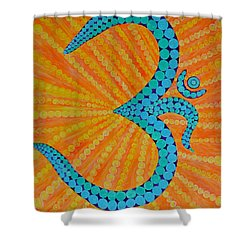 Divine Radiance Shower Curtain by Sonali Gangane