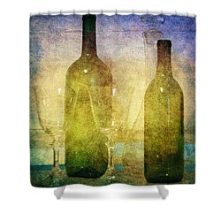 Divine Wine Shower Curtain