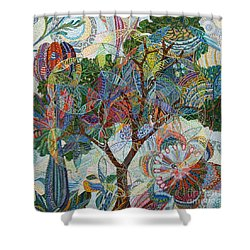 Divinitas Shower Curtain