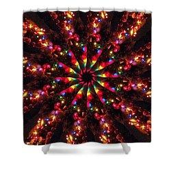 Divya Himahati Shower Curtain