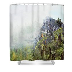 Dixville Notch Nh Shower Curtain by Michael Daniels