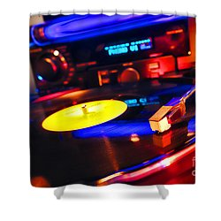 Dj 's Delight Shower Curtain
