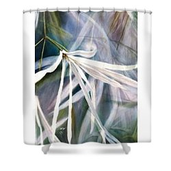 Do Flowers Dance? Shower Curtain