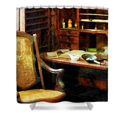 Shower Curtain featuring the photograph Doctor - Doctor's Office by Susan Savad