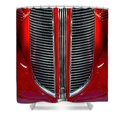 Dodge Brothers Grille Shower Curtain by Jill Reger