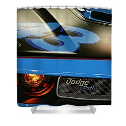 Shower Curtain featuring the photograph Dodge By Petty by Gordon Dean II