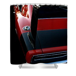 Dodge Daytona Fin Shower Curtain by Peter Piatt