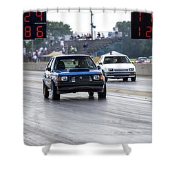 Dodge Omni Glh Vs Rwd Dodge Shadow Shower Curtain