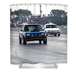 Dodge Omni Glh Vs Rwd Dodge Shadow - Without Times Shower Curtain