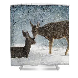 Doe A Deer Shower Curtain