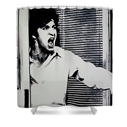 Dog Day Afternoon Shower Curtain by Luis Ludzska