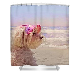 Dog Days Of Summer Shower Curtain